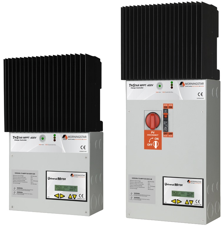Solar Charge Controller - Morningstar Tristar MPPT 600V