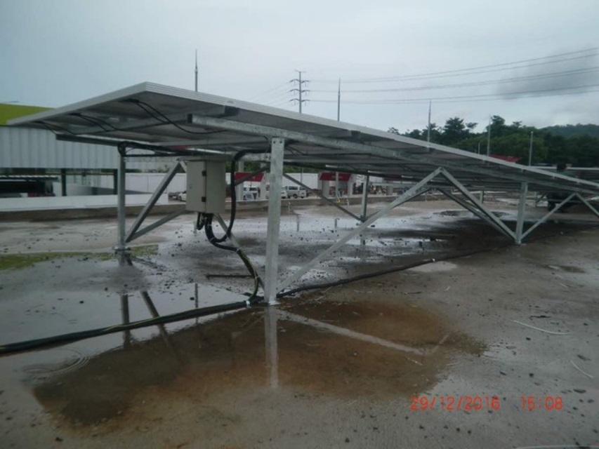 SPBG Cilegon - Off Grid 10KWp